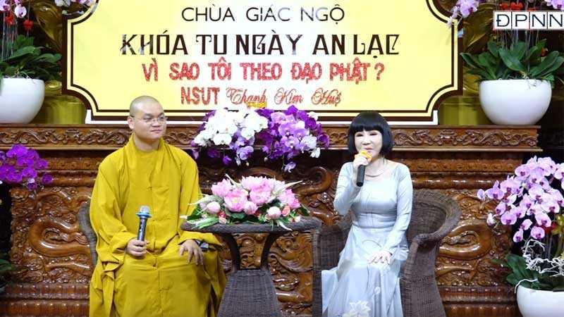 Vì sao tôi theo Đạo Phật – NSƯT Thanh Kim Huệ