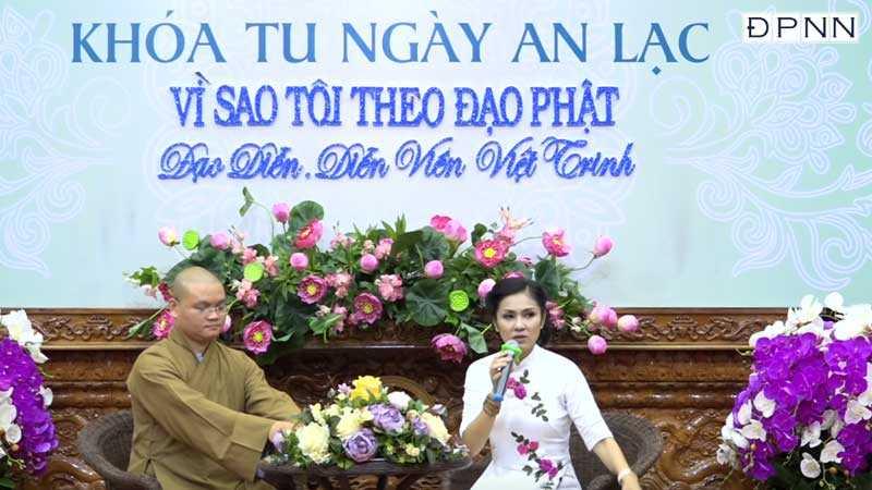 Vì sao tôi theo Đạo Phật – Diễn viên Việt Trinh