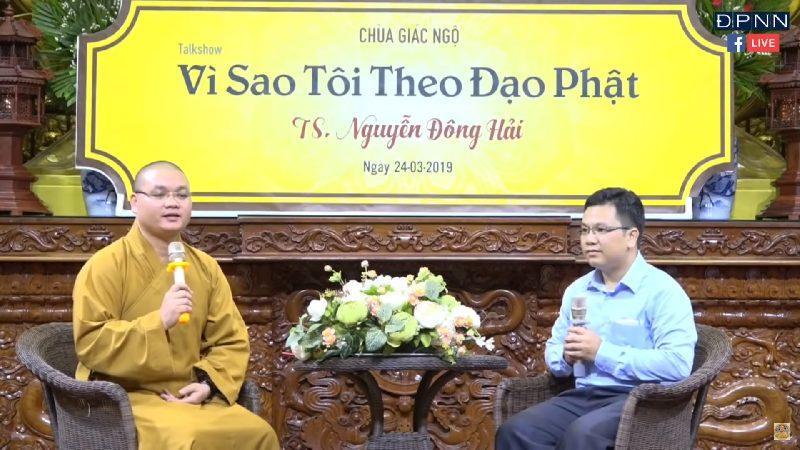 Vì sao tôi theo đạo Phật ? – Tiến sĩ Vật lý Nguyễn Hải Đông