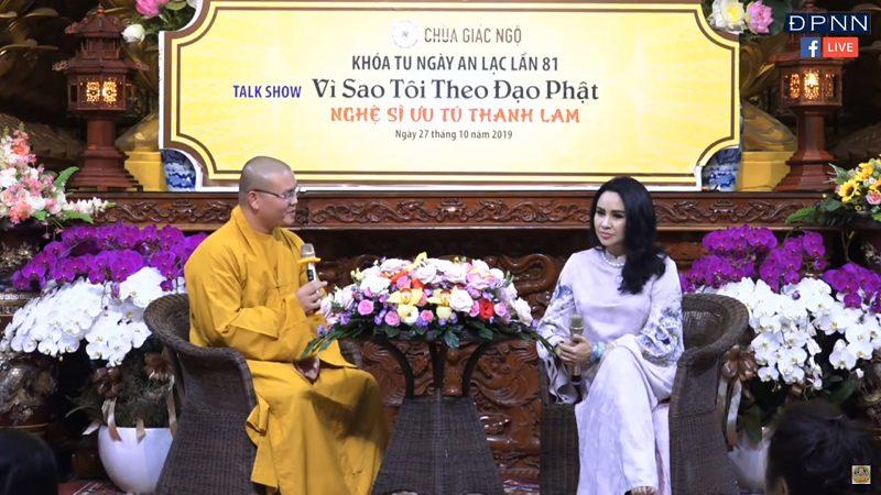 Vì Sao Tôi Theo Đạo Phật ? – Nghệ sỹ THANH LAM