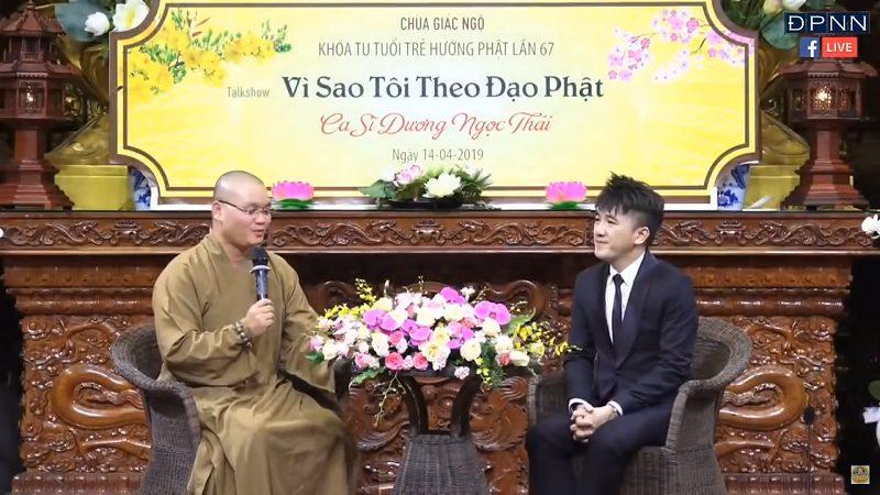 Vì Sao Tôi Theo Đạo Phật – Ca Sĩ Dương Ngọc Thái